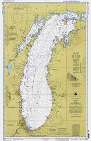 Historical Nautical Chart 14901 10 1997 Lake Michigan