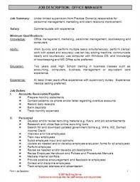 job description resume examples related  medical secretary job description resume