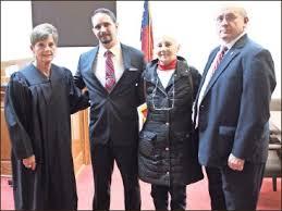 PressReader - The Standard Journal: 2016-10-26 - Polk County Probate Judge  Linda Smith swore in a new deputy coroner, Ivan Warner