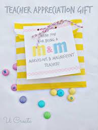 simple teacher appreciation treat m m style u createcrafts