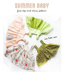 Baby Dress Patterns Adorable Easy Baby Dress Pattern For The Summertime See Kate Sew