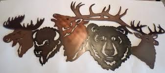 australian animal metal wall art