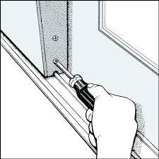 repair sliding glass door wheels adjusting sliding glass doors repairing sliding glass doors rollers