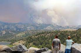 Tamarack Fire considered low priority ...