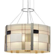 drum shade pendant lighting. image of drum shade pendant lighting