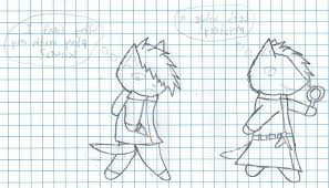 Souls Rpg How To Remove Graph Paper Lines From Line Art On Gimp