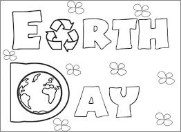 Small Picture Earth Day Coloring Pages FunyColoring