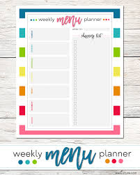 weekly menue planner chipotle ranch weekly menu plan with el monterey lil luna