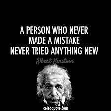 Einstein Quotes Awesome Albert Einstein Quote About Try Success Mistake Life Failure
