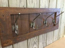 Reclaimed Wood Wall Coat Rack Decor Rustic Coat Rack The Kienandsweet Furnitures 99