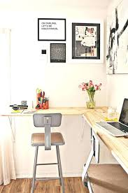 desk for small office. Office Desk For Small Space Wall Mounted Solutions The