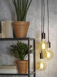 Moderne Hanglamp Oslode Stoere Zwarte Hanglamp Oslo Met 7 Fittingen