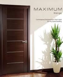 modern interior door designs. Brilliant Designs Contemporary African Wenge Interior Single Door With Aluminum Strips  Contemporaryinteriordoors For Modern Designs E