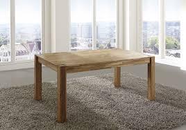 SAM® Esstisch Esszimmertisch Wildeiche 120 x 80 cm Massivholz EGON