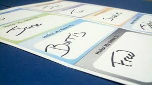 Print Name How To Print Your Own Name Tag Labels