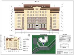 Готовые дипломные работы по строительству Скачать диплом по  ГС63 Дом правосудия в г Могилев