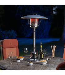 sirocco stainless steel table top patio