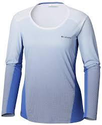 Columbia Womens Solar Chill 2 0 Long Sleeve Shirt Uv Sun Protection Moisture Wicking