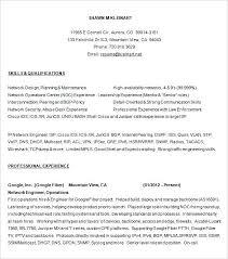 Network Engineer Resume Megakravmaga Com