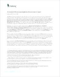 Grant Proposal Template 2 Cover Letter Basic Simple Sample Free