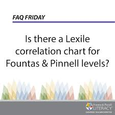 lexile score chart faq friday is there a lexile correlation chart for fountas