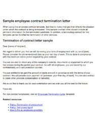 32 sle termination of contract