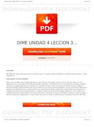 The definite article (the) and the indefinite article (a, an).try the following practice exercises on definite and indefinite articles: Dime Unidad 4 Leccion 3 Be First Cod Be First Co Dime Unidad 4 Leccion 3 8 Leccion 1 Answer Advancemos In Pdf Format From The Best User Guidedatabasepage 1 Dime Unidad 4 Leccion Pdf Document