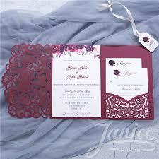 Wedding Invitation Folding Wholesale Laser Cut Wedding Invites