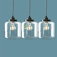 glass jar pendant light pendant lighting clear glass jar pendant lighting rustic pendant lighting kitchen island
