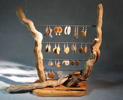 Jewelry Stands And Displays Driftwood Jewelry Display Driftwood jewelry Jewellery display 35