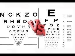 Logmar Snellen Chart Snellen Vs Etdrs Sub Eng Visual Acuity Part 2
