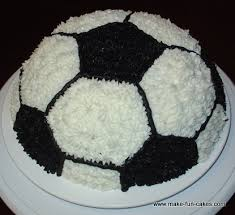 How To Decorate A Soccer Ball Cake Cake You Can Make 36