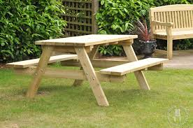 wooden garden furniture sets