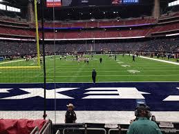 Nrg Stadium Section 116 Houston Texans Rateyourseats Com