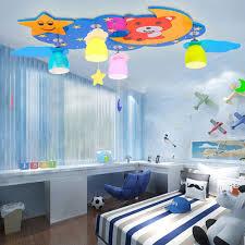 nursery ceiling lighting. Kids Ceiling Lighting. Moon And Stars Led Lights 110V-220V E27 Lamp Kindergarten Nursery Lighting