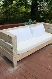 diy outdoor furniture couch. Contemporary Diy Outdoor DIY Sofa Build Plans Throughout Diy Furniture Couch R