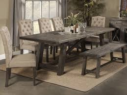 dining room rustic chairs chic modern table and tables for remodel 1