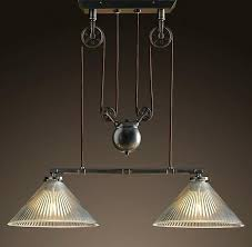 double ceiling light fitting