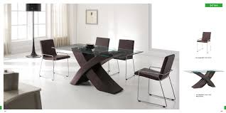 Contemporary Furniture Dining Table - Modern wood dining room sets