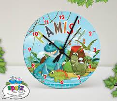 personalised kids clocks spatz mini