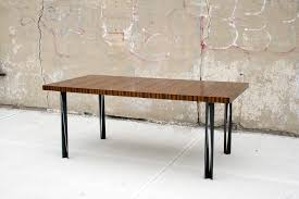 Macassar Ebony Dining Table Custom Metal Work And Welding