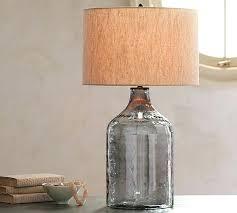 glass table lamp rita blue green glass table lamp set of 2