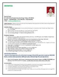 CURRICULUM VITAE Sachin Pyasi B.E. (Mechanical Engineering)-Govt Engg.  College, ...