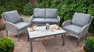 solution is perfect for outdoor living but equally at home in any lounge or sunny conservatory now complete with our weatherready cushions