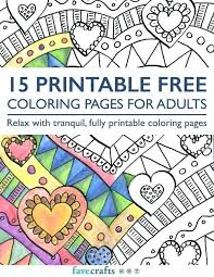 Coloring Books Printable Printable Free Coloring Pages For Adults