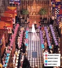 Royal Wedding Seating Chart 2018 Royal Wedding Seating Plan Reveals Meghan Markles Celeb