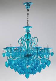 aqua chandelier bella vetro 8 light chianti chandelier 2 407 00 a splash of color