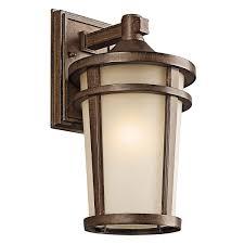 kichler 49072bst atwood outdoor wall mount lantern