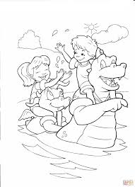 Small Picture Bathing In The Lake With Dragons Coloring Page And Dragon Tales