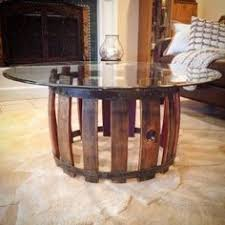 reversible reclaimed wine barrel. Reclaimed Wine Barrel Coffee Table Featuring Elements Of Rustic And Industrial Style With A Modern Twist Reversible